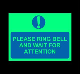 Picture of Please ring bell and wait for attention